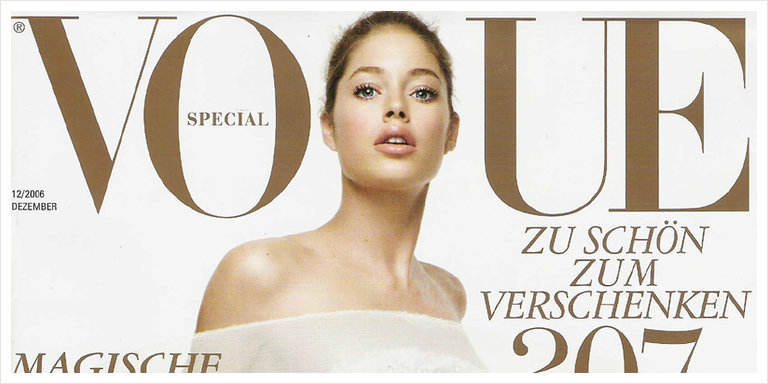 Vogue Cover Dez 2006